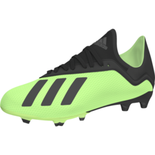 adidas X 18.3 Firm Ground Jr - Solar Yellow/Core Black/Solar Yellow