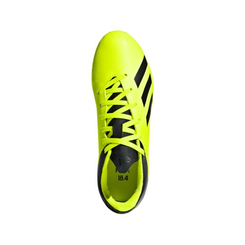 adidas X 18.4 Firm Ground Jr - Solar Yellow/Core Black/Solar Yellow