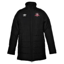 PMSC Umbro Time Padded Coat - Black