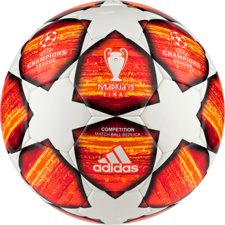 adidas Finale 19 Competition Ball - White/Red