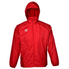 Umbro Deluge Rain Jacket - Red
