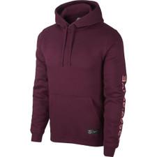Nike FC Barcelona Hoodie - Maroon/Pink