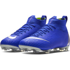 Nike Jr Superfly 6 Elite Firm Ground Boots Jr - Blue/Silver