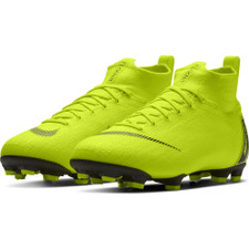 Nike Jr Superfly 6 Elite Firm Ground Boots - Volt/Black