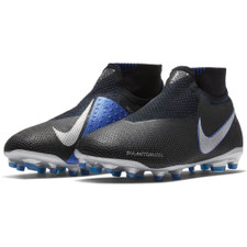 Nike Jr Phantom VSN Elite Firm Ground Boots Jr - Black/Silver