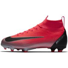 low priced 6dbd2 64d66 Nike CR7 Jr Mercurial Superfly 6 Elite Firm Ground Boot - Crimson/Black