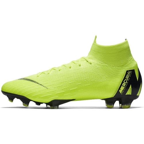 Nike Superfly 6 Elite Firm Ground Boots- Volt/Black