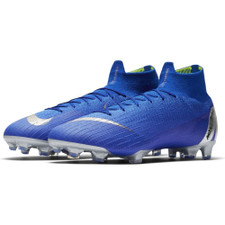 Nike Superfly 6 Elite Firm Ground Boots - Racer Blue/Silver