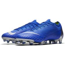 Nike Vapor 12 Elite Firm Ground Boots - Racer Blue/Silver