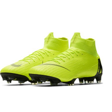 Nike Superfly 6 Pro Firm Ground Booots - Volt/Black
