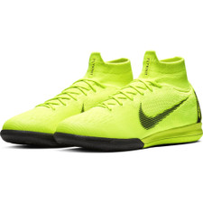 Nike SuperflyX 6 Elite Indoor Boots - Volt/Black