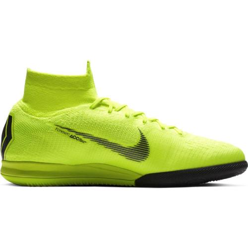 Nike SuperflyX 6 Elite Indoor Boots - Volt/Black