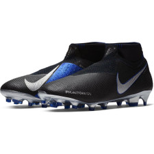 Nike Phantom VSN Elite DF Firm Ground Boots - Black/Silver