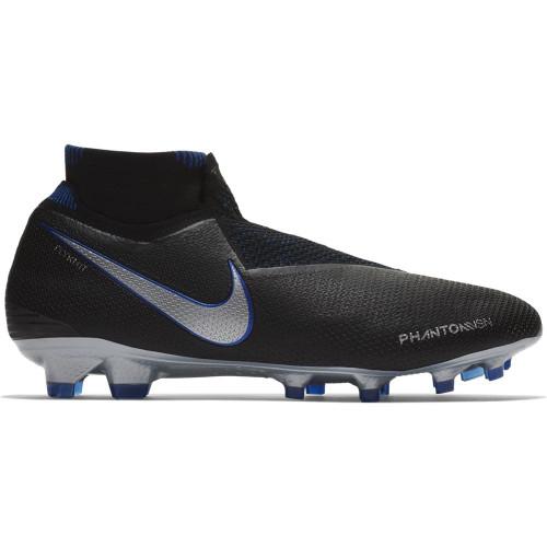 Nike Phantom VSN Elite DF Firm Ground Boots - Black/Silver