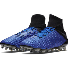 Nike Hypervenom 3 Elite Dynamic Firm Ground Boots - Racer Blue/Silver