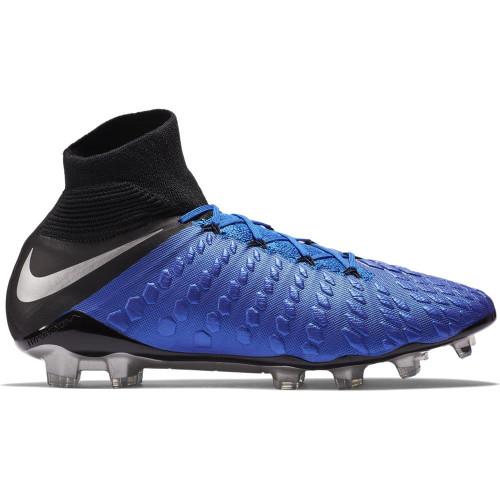 Nike Hypervenom 3 Elite Dynamic Firm Ground Boots - Racer Blue/Silver