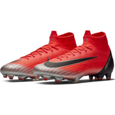 Nike CR7 Superfly Mercurial 360 Elite Firm Ground Boot - Crimson/Black