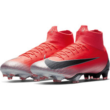 Nike CR7 Superfly 6 Pro Firm Ground Boot - Crimson/Black