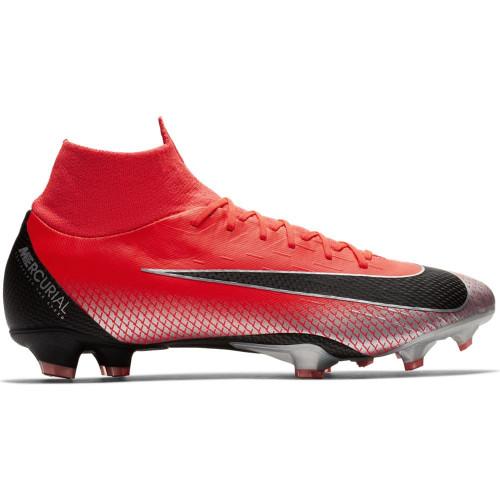 Nike CR7 Superfly 6 Pro Firm Ground Boot - Crimson/Black