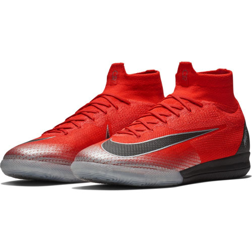 Nike CR7 SuperflyX Elite Indoor Boot - Crimson/Black