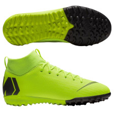 Nike Jr Superfly X Academy Artificial Turf Boots - Volt/Black