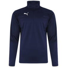 Puma Liga Training 1/4 Zip Top - Peacoat