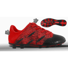 Admiral Evo Firm Ground Boot Jr - Red/Black