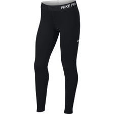 Nike Pro Warm Girls Tights - Black