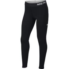 Nike Pro Warm Girls Tights - Black