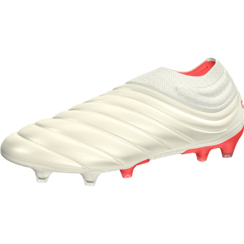 1128d908b adidas Copa 19+ Firm Ground Boots - Off White/Solar Red/Off White ...