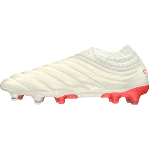 c8ac26d94 ... adidas Copa 19+ Firm Ground Boots - Off White/Solar Red/Off White ...