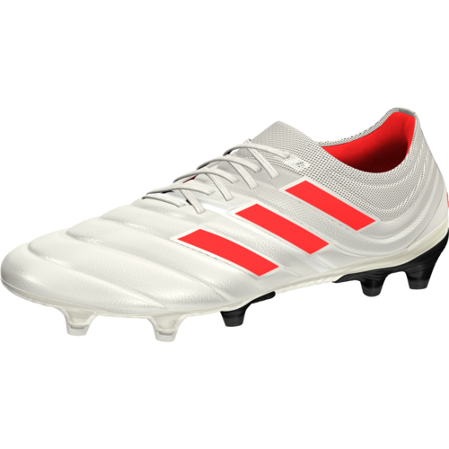0ad7f6cc7b27a adidas Copa 19.1 Firm Ground Boots - Off White/Solar Red/Core Black ...