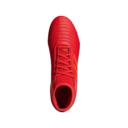 e850ac69e ... adidas Predator 19.3 Firm Ground Boots - Active Red/Solar Red/Core Black  ...