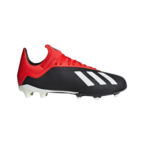 adidas X 18.4 Flexible Ground Boots JR - Core Black/Off White/Active Red