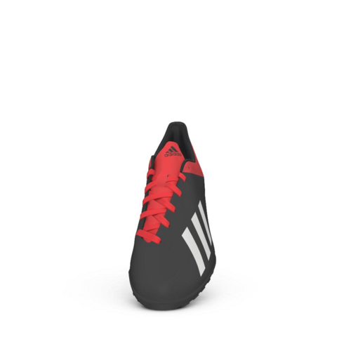 adidas X Tango 18.4 Artificial Turf Boots - Core Black/Off White/Active Red - JR