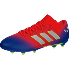 adidas Nemeziz Messi 18.3 Firm Ground Boots - Red/Silver/Blue