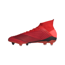 adidas Predator 19.1 Firm Ground Boots - Active Red/Solar Red/Core Black