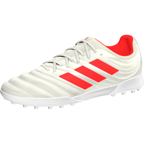 6fa217d99 adidas Copa 19.3 Turf Boots - Off White Solar red White