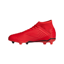 adidas Predator 19.3 Firm Ground Boots Jr - Red