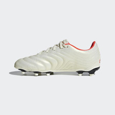 adidas Copa 19.3 Firm Ground Boots - Off white/Red/Black - JR