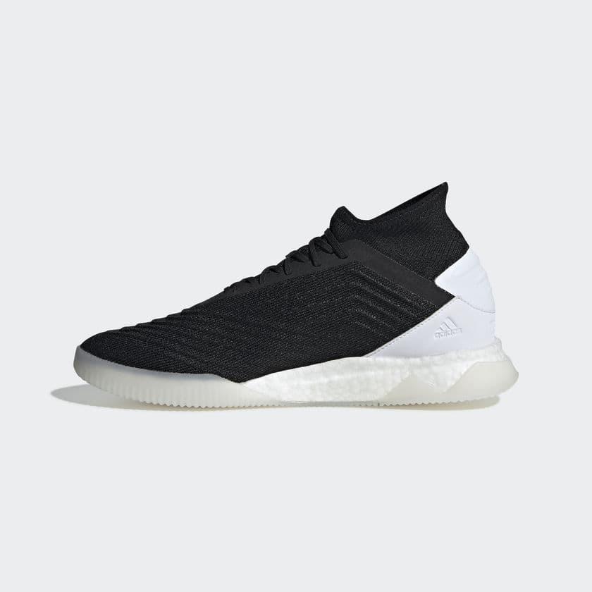adidas adidas Predator 19.1 Indoor Boots - Black/White   SOCCERX