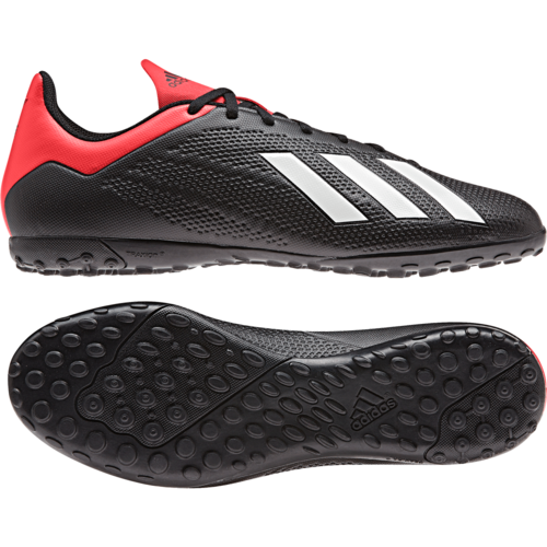 adidas X 18.4 Artificial Turf Boots - Black