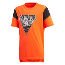 adidas Predator Tee Jr - Red/Black