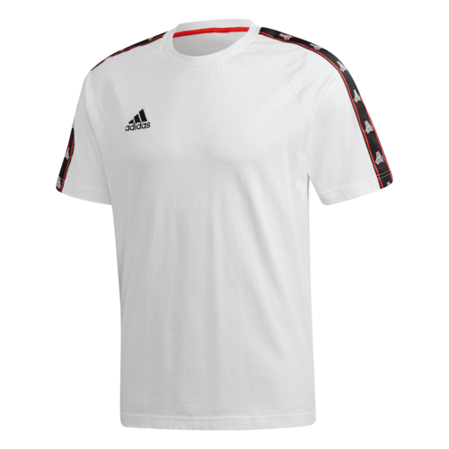adidas Tape Cotton Tee - White