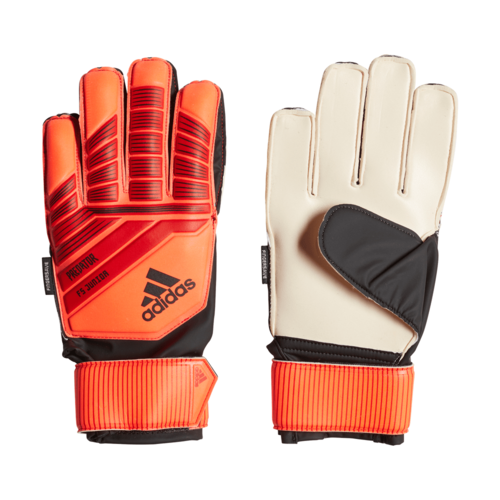adidas Predator Top Training Fingersave Gloves Jr - Active Red/Solar Red/Black