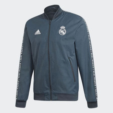 adidas Real Madrid Anthem Jacket - Onix