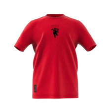 adidas Manchester United FC Kids Tee - Red