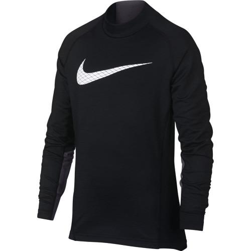 Nike Pro Warm Long-Sleeve Top Moch GFX - Black