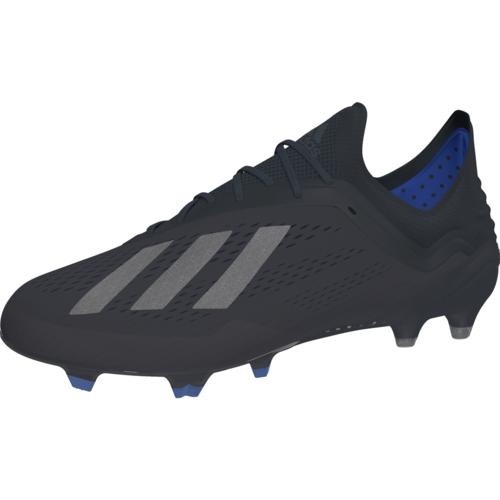 adidas X 18.1 Firm Ground Boots - Core Black/Core Black/Bold Blue