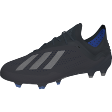adidas X 18.1 Firm Ground Boots - Core Black/Core Black/Bold Blue